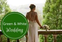 Green & White Wedding designed by Fête Nashville / For more pinspiration, check out award-wining, luxury wedding planning company, www.fetenashville.com.  / by Fête Nashville {Sara Fried}