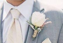 Groom. / Groom. Groomsmen. Wedding. Him. For him. Tux. Suit. Gifts. / by Fête Nashville {Sara Fried}
