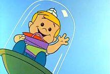 """Flintstones & Jetsons / Just for Fun / by Teresa """"B"""""""