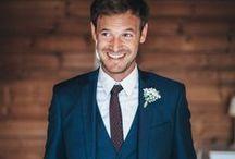 Le marié / the groom / Le marié, son costume, ses accessoires, et des idées pour lui et ses témoins