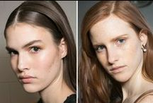 Brow Trends FW F W '15 / Brow trends from Fall/Winter Fashion Week NY '15