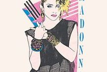 1980s Madonna / Madonna in the 80s. #LiveLife80s