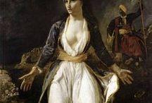 Πίνακες για την Ελληνική Επανάσταση / Η καλλιτεχνική επίδραση της ελληνικής επανάστασης. Ο ρομαντισμός ήταν κύριος εκφραστής του Αγώνα.