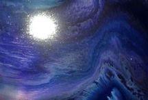 ART   Peinture vitrail sur toile / Abstrait Peinture vitrail sur toile