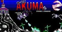 Chibi Akumas Ep1- Gothic Comedy Bullet Hell Shooter for Amstrad CPC! / Screenshots and the like from Chibi Akumas Episode 1 - the free Gothic-Comedy Amstrad CPC Bullet Hell shooter I made in 2017 http://www.chibiakumas.com