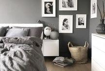 Sypialnia / #bedroom #sypialnie #mood #inspiracja