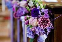 Hochzeit in Violett / purple wedding