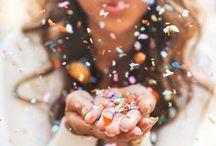 Konfetti Hochzeit / confetti wedding