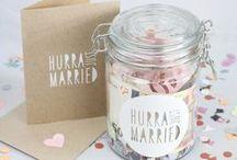 Geschenk Hochzeit / wedding gifts