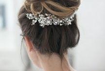 Brautstyling / bridal hair & make up