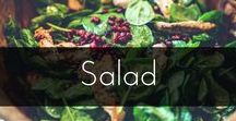 Salads / A mixture of vibrant, healthy salads that are more than just a piece of lettuce!