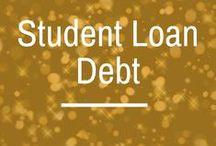 Student Loan Debt / student loan debt | student debt | how to pay off student debt | student debt repayment | income-based repayment | income-driven repayment | REPAYE | PAYE | public service loan forgiveness | student loan forgiveness