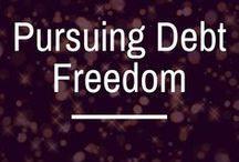 Pursuing Debt Freedom / pursuing debt freedom | debt free | how to pay off debt | debt repayment | how to become debt free | debt snowball | debt avalanche | debt repayment calculator | dealing with debt |