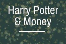 Harry Potter & Money / money lessons from harry potter | money management | millennial money tips | personal finance | accio debt freedom | accio money