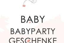 Babyparty Geschenke / Ihr seit auf der Suche nach Geschenken für die werdende Mama? Hier auf meinem Board sammel ich ausefallene Ideen egal ob für Baby-Buben, Baby-Mädchen oder Zwillinge! Die schwangere Mami freut sich bestimmt!
