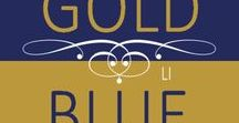 • BICOLOR | gold & blue cobalt • / ♡ please don't copy ♡ thank you for following me ♡
