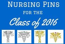 Nursing Pins / Our online store is the ultimate source for nursing graduation pins and jewelry for everyone in the medical field, including nurses, RN, LPN, BSN, NP, doctors, veterinarians, pharmacists, physical therapists, midwives and registered dental hygienists. Our selection also includes gifts and jewelry for professionals in the medical, dental and healthcare fields.  NursingPin.com