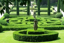 Formal Gardens & Fountains