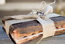 Our Perfect Wedding / Denim / Lace / burlap   / by Marie Lawson