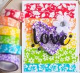 {Q&C} Wild about Washi / Ideas and inspiration for using washi tape in crafts, scrapbooks and cards.
