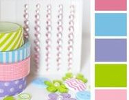 {Q&C} Colour Crazy / For the love of color... we love unique color palettes! Here we will celebrate fun new color combinations for homemade cards, scrapbook layouts and other DIY projects.