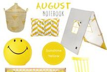NUBIE NOTEBOOK / Keep up-to-date with our monthly moodboards!