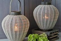 Candle Lanterns. / Stylish candle lanterns for indoor & out... / by Nordic House
