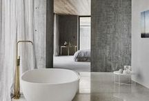/ bathroom spaces / / Bathroom, shower, sink & bath inspiration!