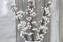 Faux Decorative Botanicals / Gorgeous faux decorative botanicals - so good, you would never know it wasn't real!  / by Nordic House