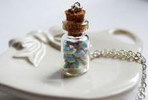 Collane - - La Botteghilla. Creazioni in fimo / My handmade creations. Necklaces. La Botteghilla