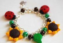 Bracciali - - La Botteghilla. Creazioni in fimo / My handmade creations. Bracelets. La Botteghilla