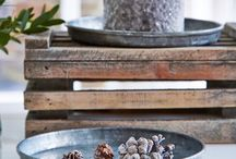 Nordic House - Timeless Zinc / Whether it be industrial and modern or rustic and vintage, Zinc is perfect for adding texture to your home decor.