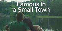 Famous In A Small Town - Slippery Rock, Book 1 / Pictures that inspired me as I wrote Famous in a Small Town, the first book in my brand new Slippery Rock series. This book features Collin (crabby orchard owner) and Savannah (disgraced Nashville star).