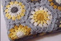 crochet / my nana taught me to crochet when i was a little girl. i have recently started crocheting again and i am in love with it...