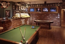 Man Cave Game rooms / by Joanne Coyle