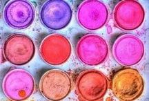 Colors that Inspire. / We're all about bright, gorgeous color at The Paint Bar.  Celebrate it with us!