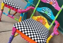 Painted furniture / by Verna Turner