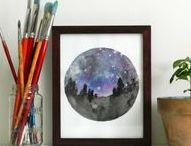 DIY Art Projects / DIY's to get you making your own art to decorate your home!