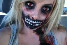 Halloween makeup / by Lisa