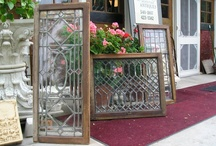 Vintage Mirrors; Vintage Stained Glass Windows; & Vintage Beveled Glass Windows / by Jean Baethge
