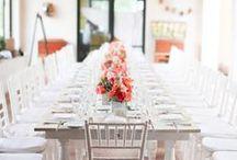 Reception Inspiration / Wedding Day Reception Inspiration