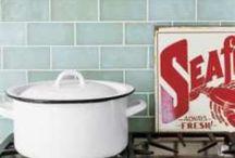 Countertop, Backsplash, & Tub/Shower Surround Ideas / by Jean Baethge