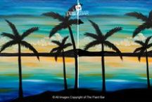 Paintings -- Summer. / We are very seasonal at The Paint Bar! Here is a selection of our Summer paintings.