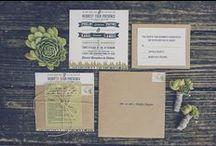 Stationery Inspiration / Wedding Stationery Inspiration