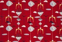 mid-century modern project / MCM - mid-century modern design, particularly fabrics