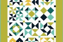 HST madness / Quilting - half-square triangles (HSTs) and quilt patterns for them