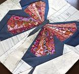 foundation paper piecing / quilting / patchwork technique known as foundation paper piecing, FPP, sewing quilt blocks onto a paper pattern