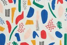 fabric designers I admire / contemporary modern fabric design surface design applied arts