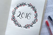 .bullet journal ideas
