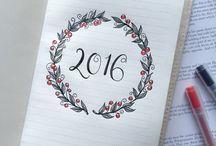 .bullet journal ideas